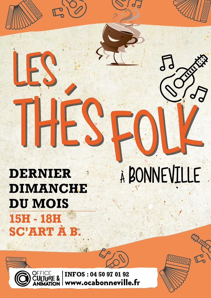 Affiche Thes Folk web - Activités et stages - OCA Bonneville