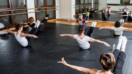 Danse Barre a terre reduite - Activités et stages - OCA Bonneville