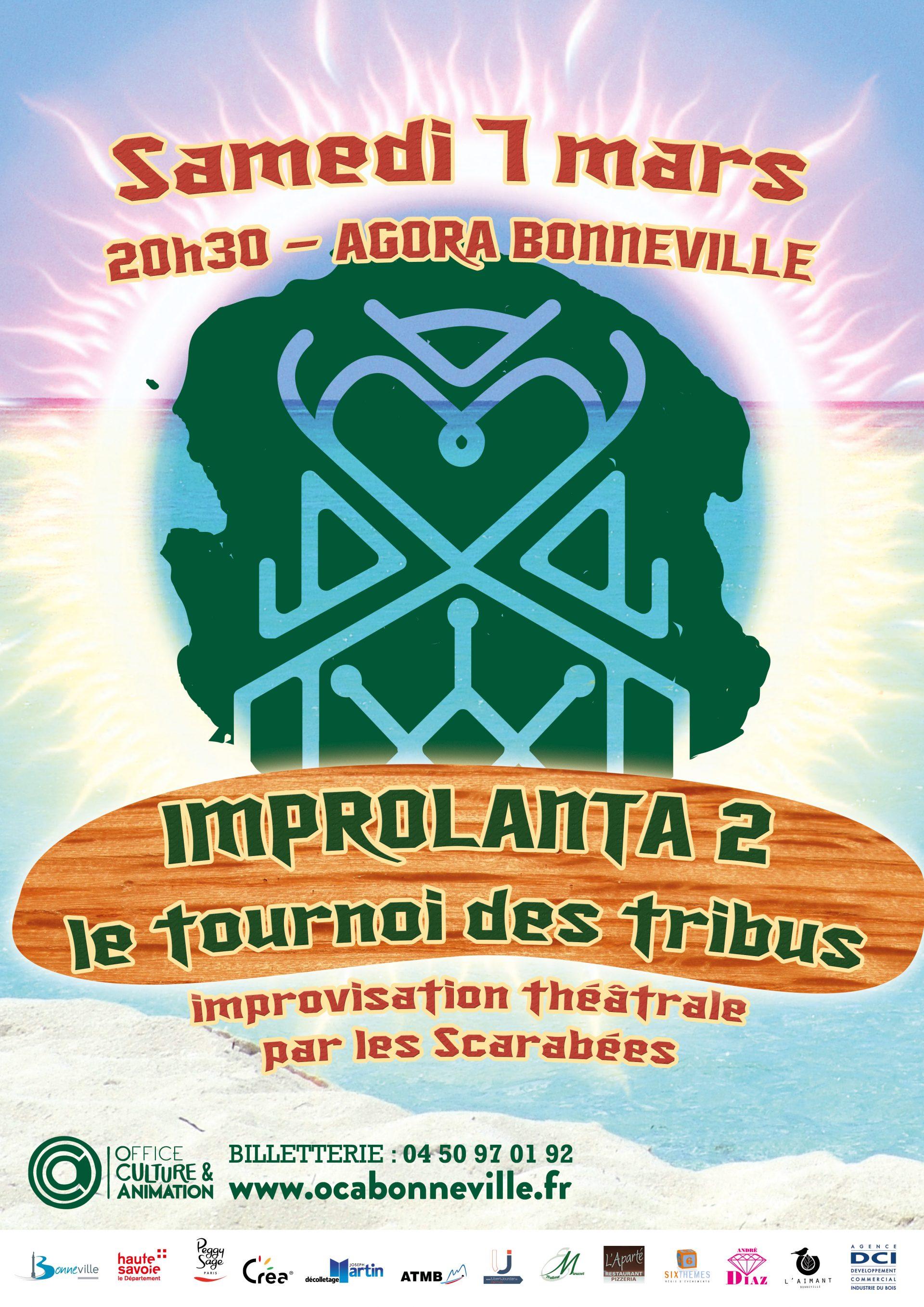 Affiche Improlanta - Evénements & Spectacles - OCA Bonneville