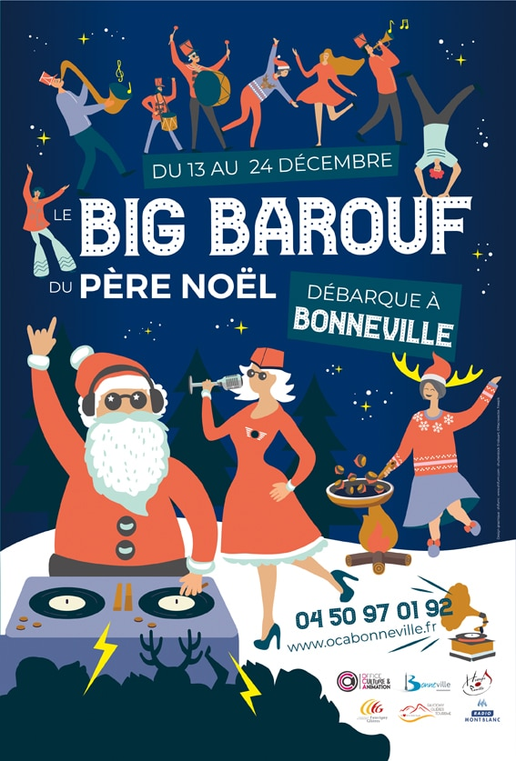 Big Barouf du Pere Noel 2019 Affiche web2 - Accueil - OCA Bonneville
